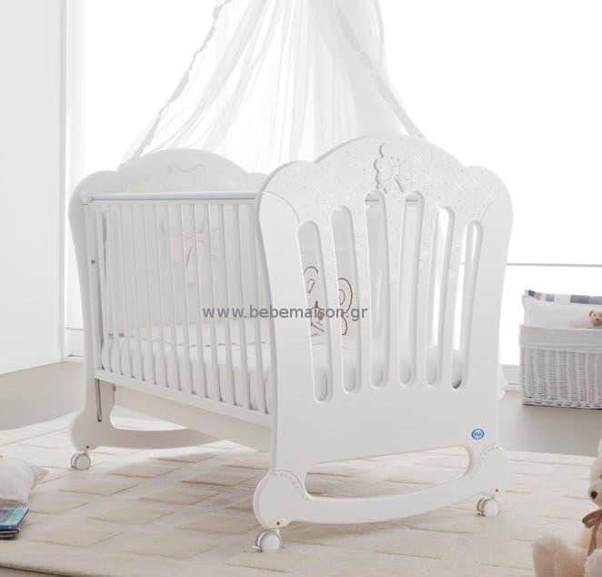 3ae70f6fc74 Βρεφικό κρεβάτι Pali Principe white - Βρεφικά κρεβάτια στο Bebe Maison