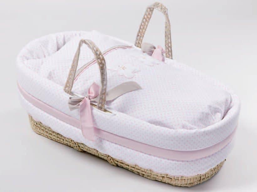 6ced1e622d3 Καλαθούνα Picci σχέδιο Coco Pink - Καλαθούνες μωρού στο Bebe Maison