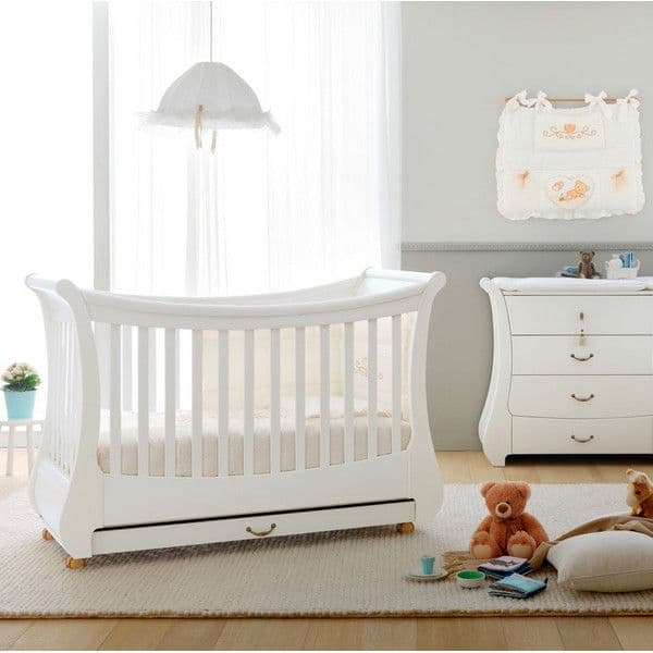 5e13cb93e0c Κρεβάτι καναπές Pali Tulip χρώμα λευκό - Κούνιες για μωρά στο Bebe ...