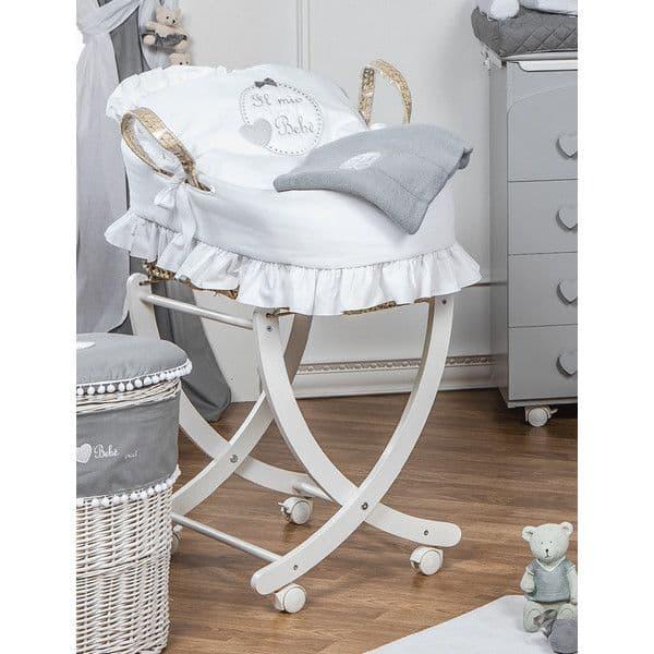 8233aa66534 Καλαθούνα Picci σχέδιο Cheesecake white/perla - Καλαθούνες μωρού στο ...