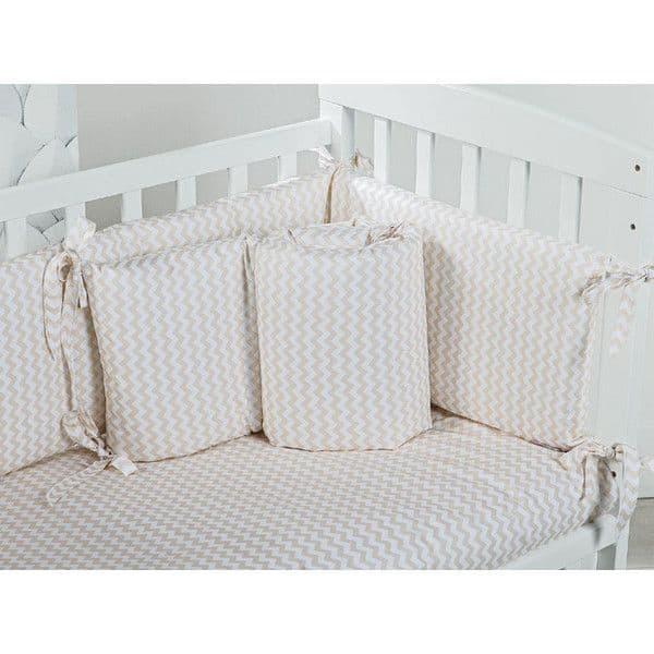 25127d4d41d Σετ προίκας Picci για λίκνο Lella Zig beige - Προίκα μωρού στο Bebe ...