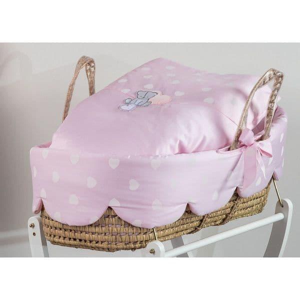 c539072df77 Καλαθούνα Picci σχέδιο Amelie rosa - Καλαθούνες μωρού στο Bebe Maison