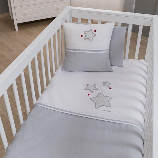 036a639175f Σετ σεντόνια 3τμχ Funna Baby σχέδιο Baby Star - Προίκα μωρού στο ...