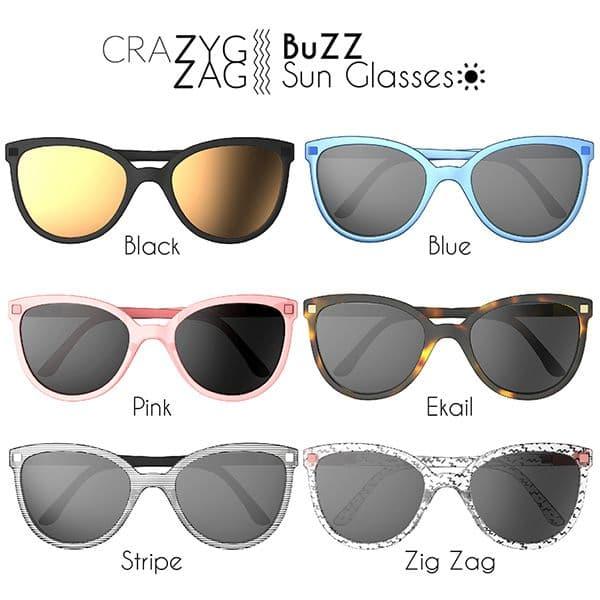 f3d7171a75 ... Γυαλιά Ηλίου KiETLA 6-9 ετών CraZyg-Zag SUN BuZZ Stripe στο Bebe Maison  ...