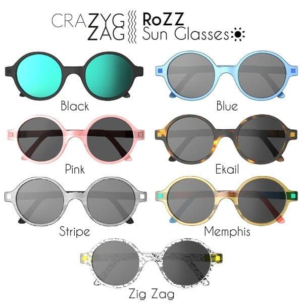 5d822ad44a ... Γυαλιά Ηλίου KiETLA 9-12 ετών CraZyg-Zag SUN RoZZ Pink στο Bebe Maison  ...