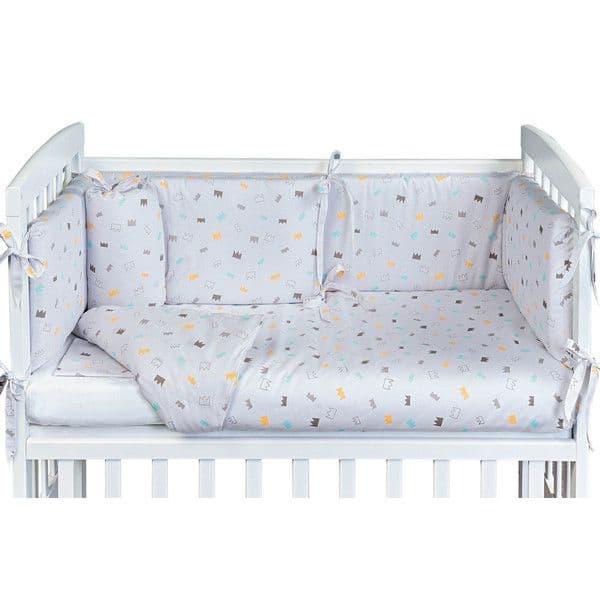 8d1c0a09622 Σετ προίκας για λίκνο Picci Lella Bear Multicolor - Προίκα μωρού στο ...