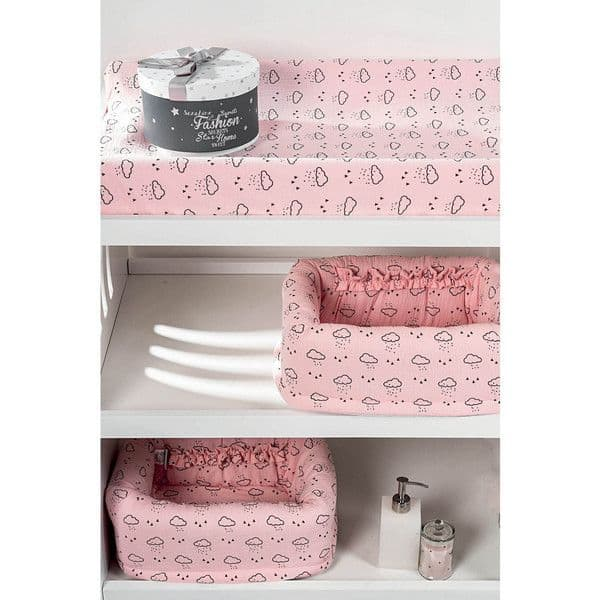 3622b8dc0d4 Καλάθι καλλυντικών Picci σχέδιο Space Pink - Λευκά είδη μωρού στο ...