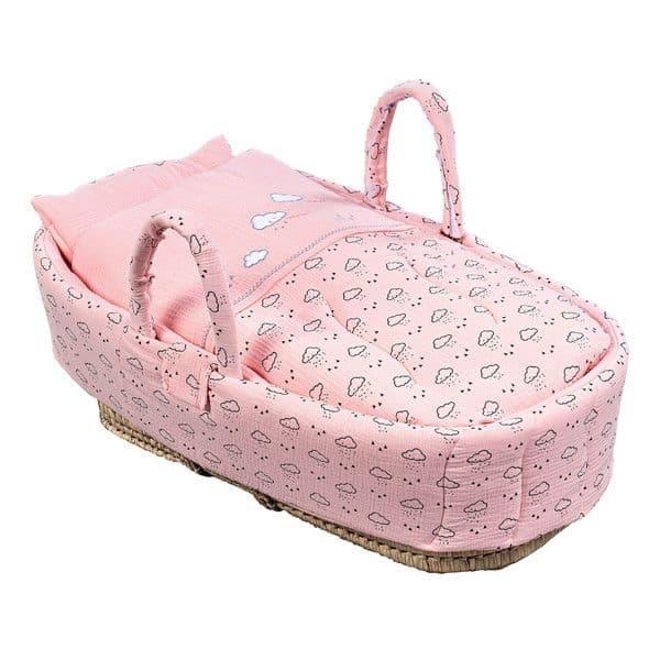 96ac7edb1b1 Καλαθούνα Picci σχέδιο Space Pink - Καλαθούνες μωρού στο Bebe Maison
