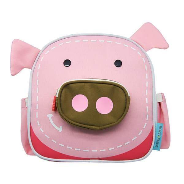 80d88c6879c Marcus & Marcus Παιδική ισοθερμική τσάντα πλάτης γεύματος γουρουνάκι στο  Bebe Maison ...