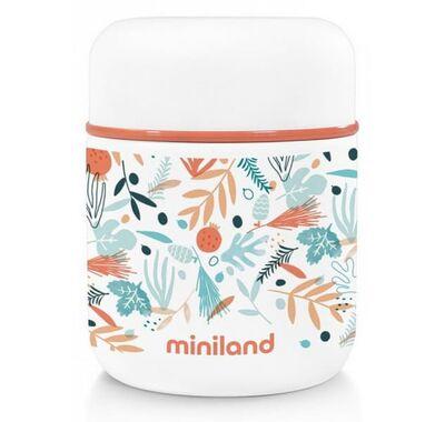 Θερμός φαγητού Miniland Mediterranean Food Thermos Mini 280 ml στο Bebe Maison