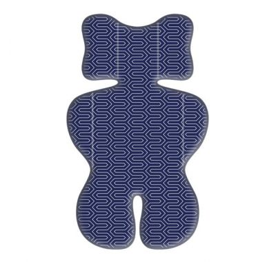 Στρώμα καροτσιού Grecostrom 3D Air Mesh Maze blue στο Bebe Maison