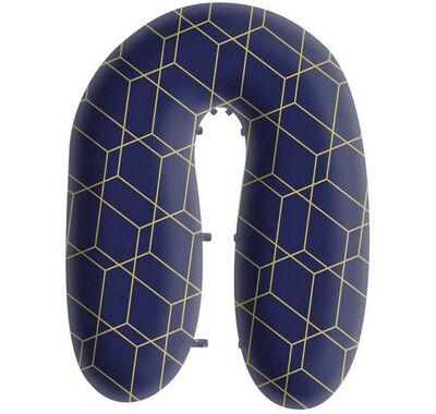 Μαξιλάρι θηλασμού/ εγκυμοσύνης Comfort 3 in 1 Grecostrom Strom Honey comb blue στο Bebe Maison