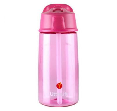 Παγούρι LittleLife Flip-Top 550 ml ροζ στο Bebe Maison