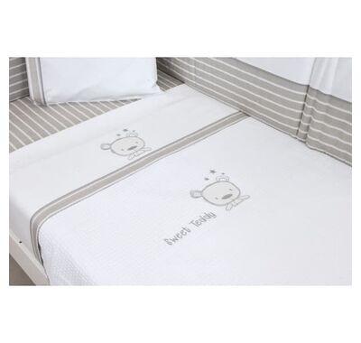 Κουβέρτα πικέ κρεβατιού Baby Oliver 100x140 σχέδιο 350 στο Bebe Maison