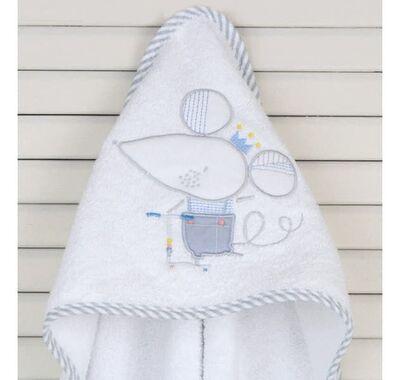 Μπουρνούζι κάπα Baby Oliver σχέδιο 351 στο Bebe Maison