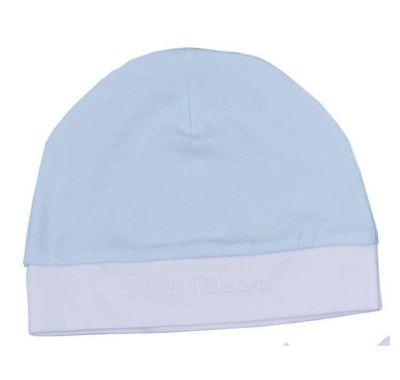 Σκουφάκι Baby Oliver γαλάζιο λευκό στο Bebe Maison