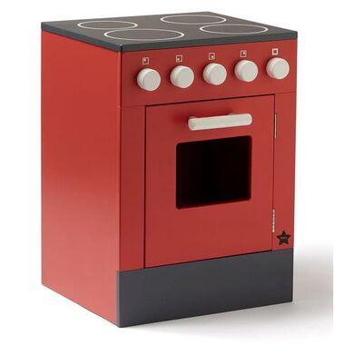Ξύλινος φούρνος Kids Concept Bistrot κόκκινο στο Bebe Maison