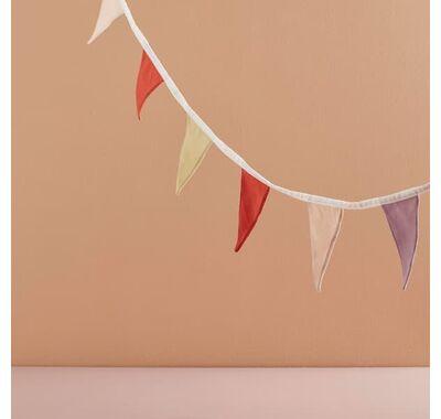 Υφασμάτινη γιρλάντα Kids Concept ροζ κίτρινο στο Bebe Maison
