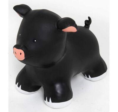 Φουσκωτό ζωάκι Jumpy Γουρουνάκι μαύρο στο Bebe Maison