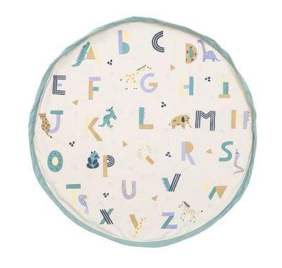 Στρώμα παιχνιδιού - τσάντα 2 σε 1 Play & Go Animal alphabet στο Bebe Maison