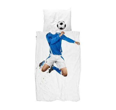 Σετ παπλωματοθήκης Snurk Ποδοσφαιριστής 140 x 200 στο Bebe Maison