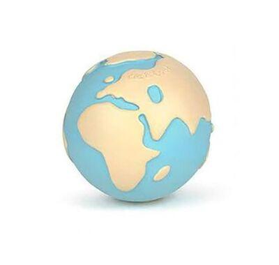 Μασητικό από φυσικό καουκτσούκ Olie & Carol Υδρόγειος - Earthy the World Ball στο Bebe Maison