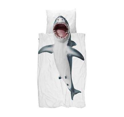 Σετ παπλωματοθήκης Snurk Καρχαρίας 160 x 220 στο Bebe Maison