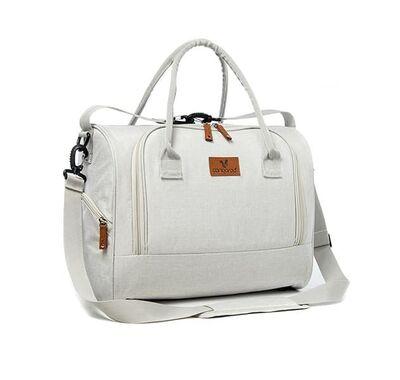 Τσάντα αλλαξιέρα Cangaroo Jossie beige στο Bebe Maison