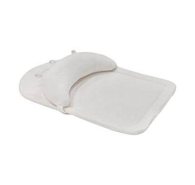Μαξιλαράκι γυμναστικής memory foam Kikka Boo Tummy time White velvet στο Bebe Maison