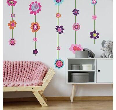 Αυτοκόλλητα τοίχου RoomMates Κρεμαστά λουλούδια στο Bebe Maison
