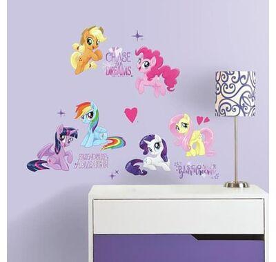 Αυτοκόλλητα τοίχου RoomMates My Little Pony Glitter στο Bebe Maison