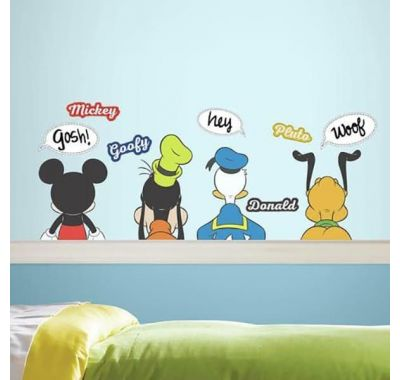 Αυτοκόλλητα τοίχου Dry-erase RoomMates Disney Ήρωες στο Bebe Maison