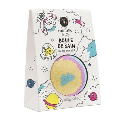 Παιδικά άλατα Bath bomb Galaxy Nailmatic ροζ/κίτρινο/γαλάζιο στο Bebe Maison
