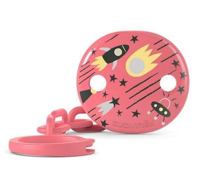 Kλιπ πιπίλας Suavinex Space Pink στο Bebe Maison