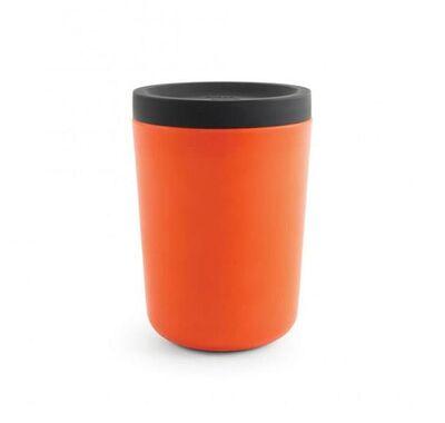 Bamboo κούπα καφέ 350ml Ekobo κόκκινο στο Bebe Maison