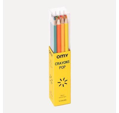 Σετ 16 πολύχρωμων μολυβιών OMY στο Bebe Maison