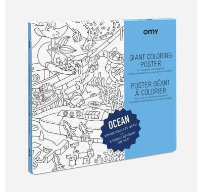 Αφίσα γίγας για ζωγραφική OMY Ωκεανός στο Bebe Maison