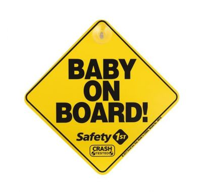 Baby on board με βεντούζα Safety first στο Bebe Maison