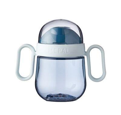 Εκπαιδευτικό ποτηράκι Mepal με χειρολαβές 200ml μπλε στο Bebe Maison