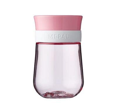 Εκπαιδευτικό ποτηράκι περιμετρικό Mepal 300ml ροζ στο Bebe Maison