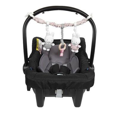 Γιρλάντα Καροτσιού - καθίσματος αυτοκινήτου Miffy Pink στο Bebe Maison