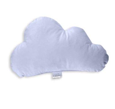 Διακοσμητικό μαξιλάρι Baby Oliver Σύννεφο βελουτέ σιέλ σχέδιο 130 στο Bebe Maison