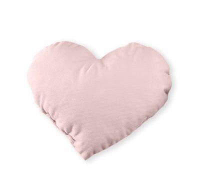 Διακοσμητικό μαξιλάρι Baby Oliver Καρδιά βελουτέ ροζ σχέδιο 141 στο Bebe Maison