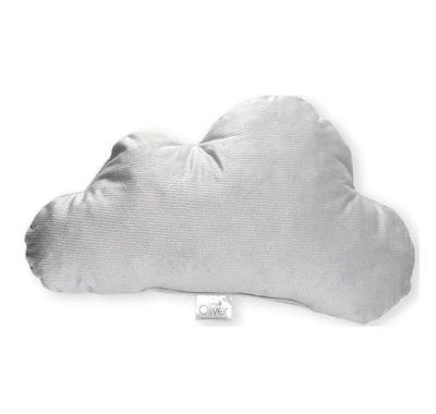 Διακοσμητικό μαξιλάρι Baby Oliver Σύννεφο βελουτέ γκρι σχέδιο 132 στο Bebe Maison