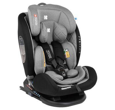 Παιδικό κάθισμα αυτοκινήτου Kikka Boo Multistage 0-36kg σκούρο γκρι στο Bebe Maison