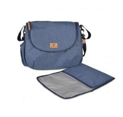 Βρεφική τσάντα αλλαξιέρα Cangaroo Naomi blue στο Bebe Maison