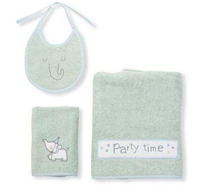 Σετ πετσέτες Funna Baby Party μέντα στο Bebe Maison