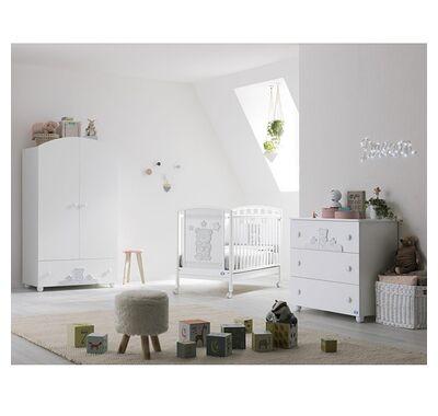 Ολοκληρωμένο βρεφικό δωμάτιο Pali Birba με μεγάλη συρταριέρα στο Bebe Maison