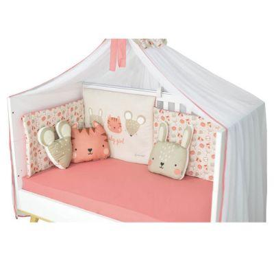 Σετ διακοσμητικά μαξιλαράκια Bebe Stars Bunny στο Bebe Maison
