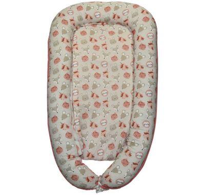 Φωλιά ύπνου-μαξιλάρι θηλασμού 4 σε 1 Bebe Stars Bunny στο Bebe Maison